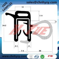 ISO9001 high performence waterproof EPDM sealing strip for auto EPDM moldings
