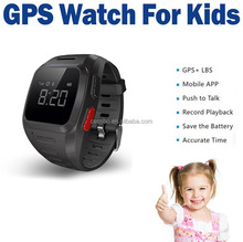 Mini Kids Wrist Watch GPS Tracking Device for Kids GPS Positioning