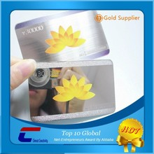 stainless steel cards for china factory metal cards