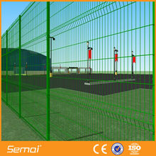 high quality metal fence with triangle bend(anping ISO,CE)