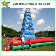 funny inflatable climbing wall big challenge rock inflatable climbing wall price