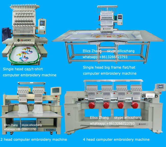 40 Colors Industrial Embroidery And Sewing Machine For Sale View Adorable Used Sewing Embroidery Machines For Sale