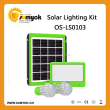 Portable Solar 5W Power Systerm Kits/camping kits home use solar system