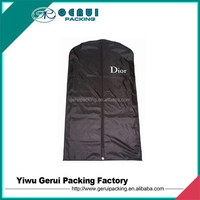 polyester suit cover bag,polyester garment bag,polyester shopping bag