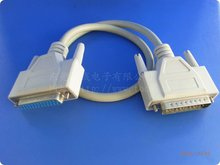 DB 25 pin cable male to female parallel port printer cable