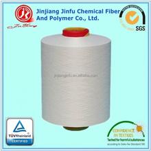 JinJiang Jinfu 100% Polyester Yarn dty optical white bleach white