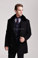 High Quality!!! men wool trench coat