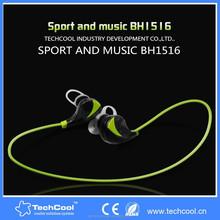Techcool small size light sport and music BH1516 stereo wireless mini bluetooth earbuds earphone