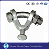Used For Power Line Transmission Or Overhead Line Fittings VIC Galvanzied Y Type Ball Clevis