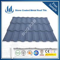 Roof tile colorful stone coated steel /different types of roof tiles