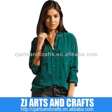 Wholesale New Arriving Silk Blouse for Lady