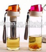 Fancy Wholesale Glass Bottles, Handmade Glass Bottles for Water