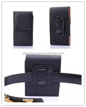 Leather Case Pouch Holster with Rotating Belt Clip for iphone 6 samsung