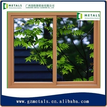 2015 most popular pvc sliding windows with Factory Price/cheap house windows for sale