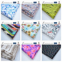 Jiufan Textile Hot Sell 2015 New Products Woven Rayon Roll Printing Wholesale Challis Fabric