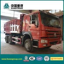 HOWO 5 star 6x4 heavy dumper truck
