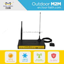 F7434 gps 3g wifi router with sim card wcdma gps 4 Lan industrial gps module network router m