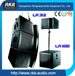Hot sale LA-312 line array/mini line array speaker/ultra-compact line array sound speaker
