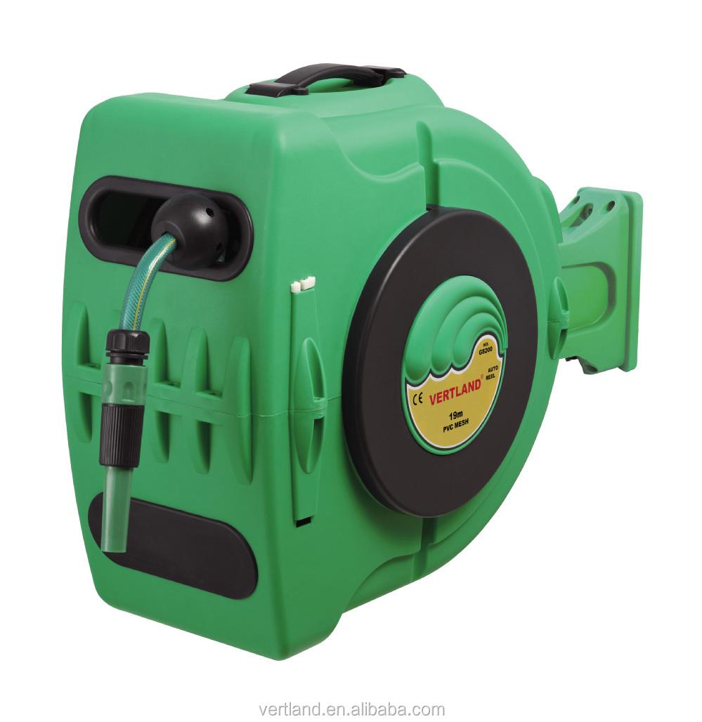 retractable garden hose reel, View automatic garden hose reel