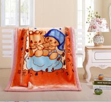 Reversible Baby Blanket weft quality Supreme Comfortable Children Baby blanket