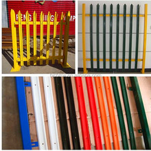 "l 'W' TYPE and ""D"" type hot sale palisade fencing and aluminium palisade fencing & powder coated palisade fence"