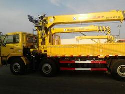 China Construction Machinery , Building Equipment Truck Mounted Crane SQ16SK4Q
