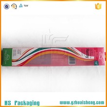 cheap hair extension packaging box wholesale with custom logo