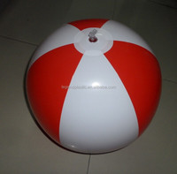 PVC inflatable beach ball for promotion, inflatable promotional beach ball