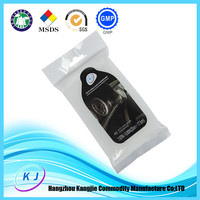 Car cleaning wet tissue/Car leather seats/Bumper/Interior cleaning wet wipes,Automatic car cleaning cloth