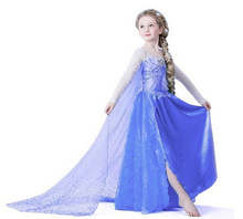 Europe and the United States ELSAANNA princess costumes children's clothing wholesale manufacturers of explosion girls skirts