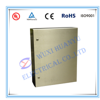 Custom stainless steel electric control box with lock