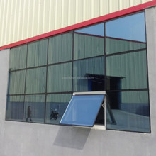 2.0mm aluminium invisible frame glass curtain wall