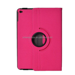 360 degree rotating custom leather case for Ipad tablet pc