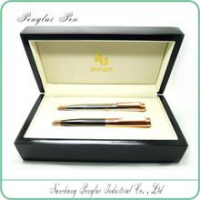 2015 Luxury Wholesale set metal promotion gift couple corporate gift pen set