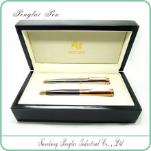 luxury Wholesale set metal promotion gift couple corporate gift pen set