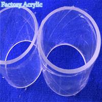 Large diameter acrylic tube round acrylic tube