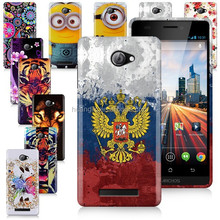 For Archos 50 Helium TPU Printing Gel Skin Case Cover Bags With Free Shipping