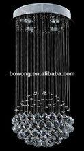 Clear K9 crystal hanging light chanderlier lighting C025