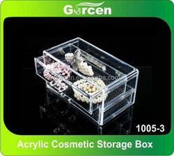 Desktop Acrylic cosmetic storage box, cosmetic organizer