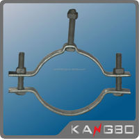 Hot dip galvanized steel embrace hoop