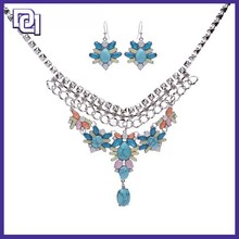 pandant necklace,necklace and earring sets, layered necklace