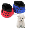nylon Pet Portable Traveling Bowl Foldable Feeder Dog Garden Water Bowl
