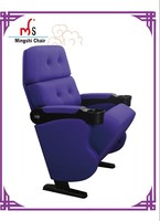 famous 3 D seat,3d cinema char with cup holder,theater furniture