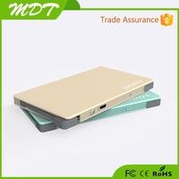 Polymer battery 4000mAh Ultra Slim mobile power bank best gift for business partner factory outlets center
