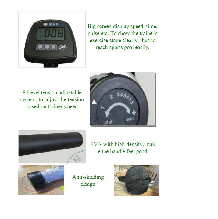 BLE204 rowing machine/best roller
