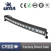 14x10W Single Row Curved Led Light Bar for Automobile, Off Road Vehicles