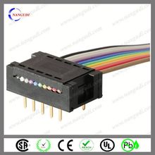 OEM new design crimp type idc 30 pin connector