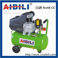 AIBILI best seller electric/gasoline/diesel portable piston type direct driven cheap air compressor(24L,50L) for sale