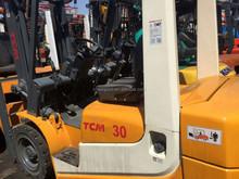 Manual hydraulic forklift, TCM forklift 3 t