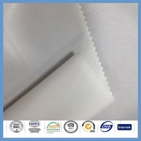 thin polyester breathable glue waterproof fabrics